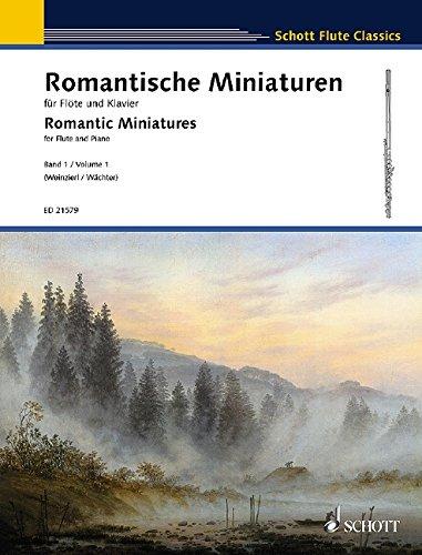 Romantische Miniaturen Band 1 : für Flöteund Klavier