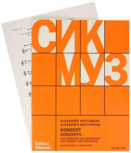 Konzert für Trompete und Orchester :für Trompete und Klavier: Alexander Arutjunjan