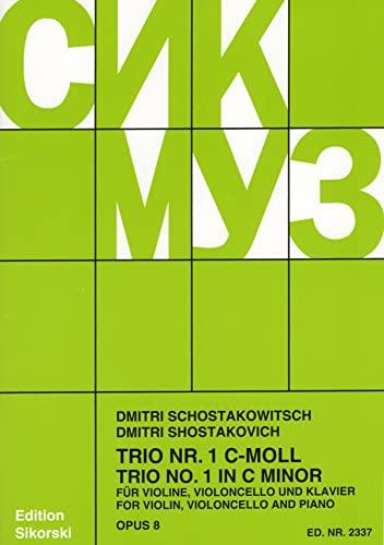 Klaviertrio Nr.1 op.8: Dimitri Schostakowitsch