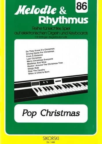 Pop Christmas :für E-Orgel/Keyboard