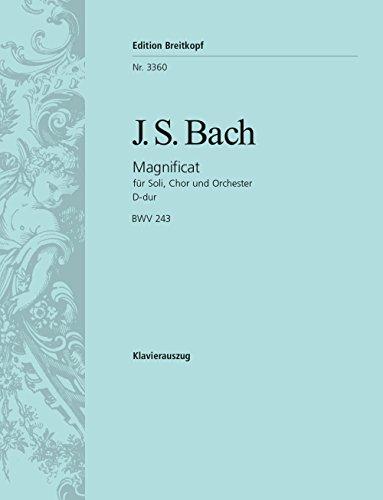 Magnificat D-dur BWV 243 - Klavierauszug (EB: Sebastian Bach, Johann