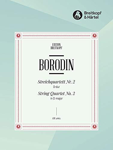 Streichquartett D-Dur Nr.2Stimmen: Alexander Borodin