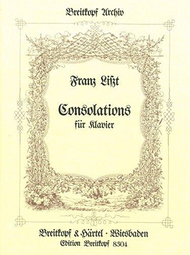 Consolations, Klavier: Franz Liszt