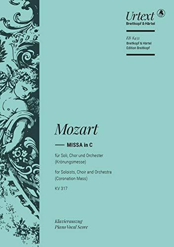 Missa C-Dur KV 317 (Krönungsmesse), Klavierauszug (Taubmann: Wolfgang A. Mozart
