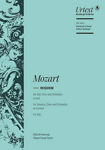 REQUIEM D MINOR KV 626 (Sheet music): MOZART, WOLFGANG AMA