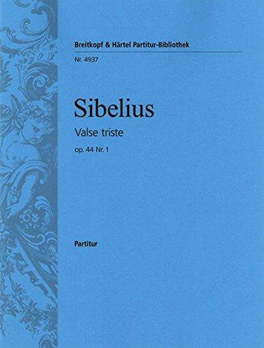 Valse triste aus op.44 (aus der Musik zum Bühnenstück 'Kuolema'), 2 Gitarren: ...