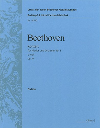 Konzert c-Moll Nr.3 op.37 :für Klavier und: Ludwig van Beethoven