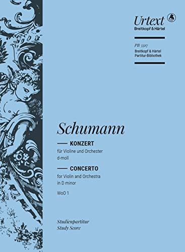 9790004212356: Violin concerto in D minor (WoO 1) - Breitkopf Urtext