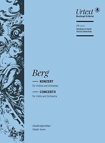 Violinkonzert: Alban Berg