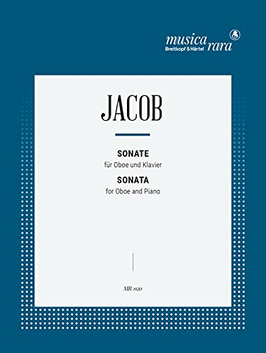 Sonata : for oboe and piano: Gordon Percival Septimus Jacob