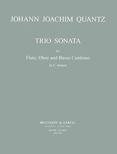 Triosonate c-Moll : für Flöte,Oboe und Bc: Johann Joachim Quantz