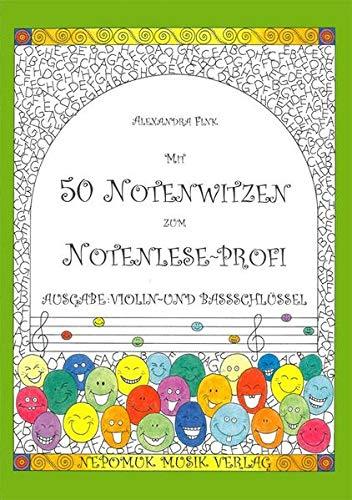Mit 50 Notenwitzen zum Notenleseprofi - Book
