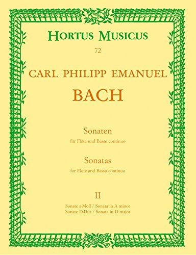 Sonaten Band 2 (Wq128 und Wq131) :für Flöte und Bc: Carl Philipp Emanuel Bach