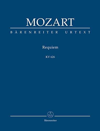 Requiem d-Moll KV 626, Partitur: Studienpartitur. Mozarts: Wolfgang Amadeus Mozart