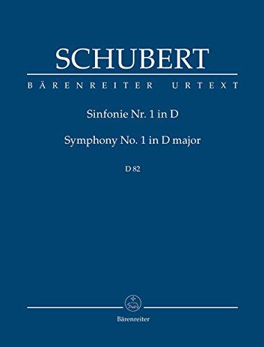 Sinfonie D-Dur Nr.1 D82 :für Orchester: Franz Schubert