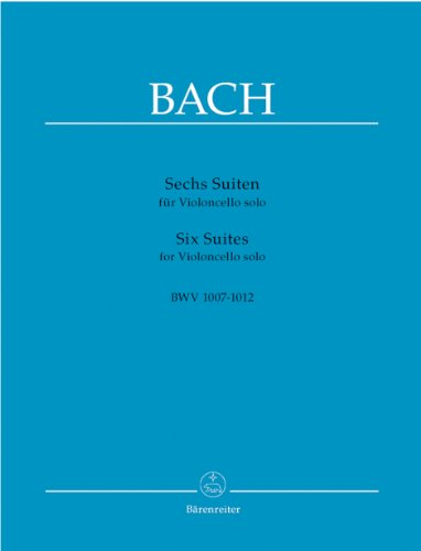 6 Cello Suites: Bach J S