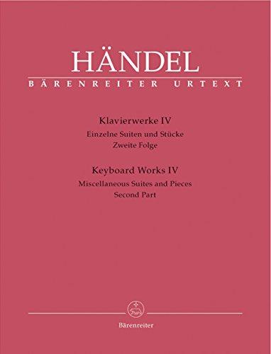 Klavierwerke 4 - Suiten + Stuecke 2.