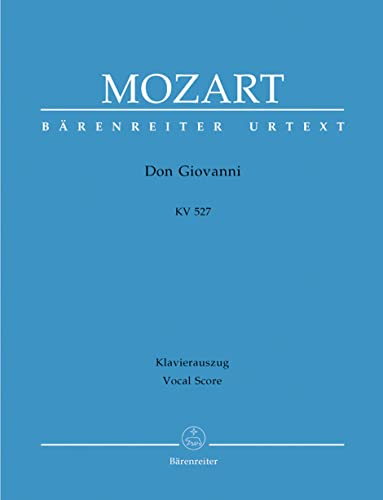 9790006450459: Don Giovanni, K. 527