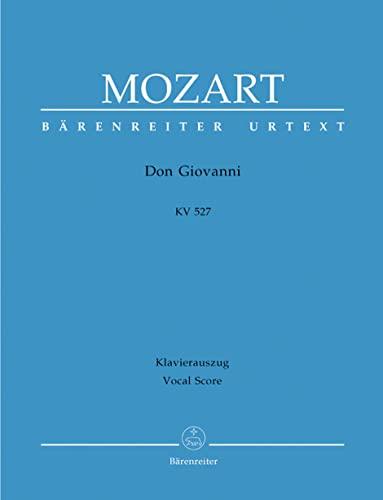 Don Giovanni KV 527, Text Deutsch-Italienisch, Klavierauszug: Wolfgang Amadeus Mozart