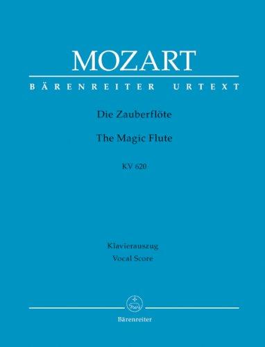 Die Zauberflöte, KV 620, Klavierauszug: Wolfgang Amadeus Mozart
