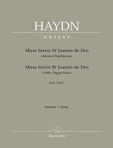 Missa brevis St. Joannis de Deo -: Haydn, Joseph