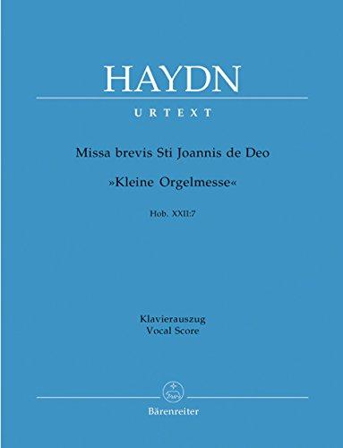 Missa Brevis St. Joannis De Deo, Hob.: Haydn, Joseph,