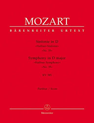 Sinfonie D-Dur KV385 : für OrchesterPartitur: Wolfgang Amadeus Mozart