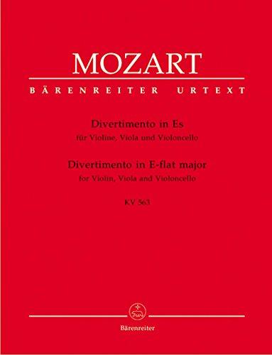 Divertimento Es-Dur KV563 :für Streichtrio: Wolfgang Amadeus Mozart