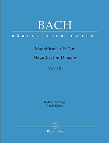 Magnificat D-Dur BWV 243, Klavierauszug: Urtext. Fassung: Johann Sebastian Bach