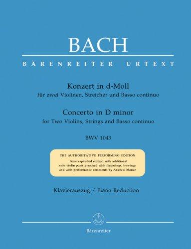 Konzert d-Moll BWV1043 für2 Violinen, Streicher und Bc :: Johann Sebastian Bach