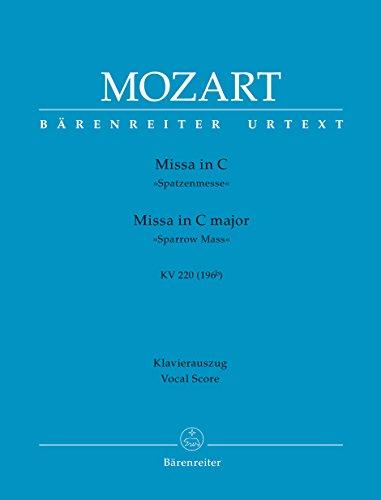 BARENREITER MOZART W.A. - MISSA IN C