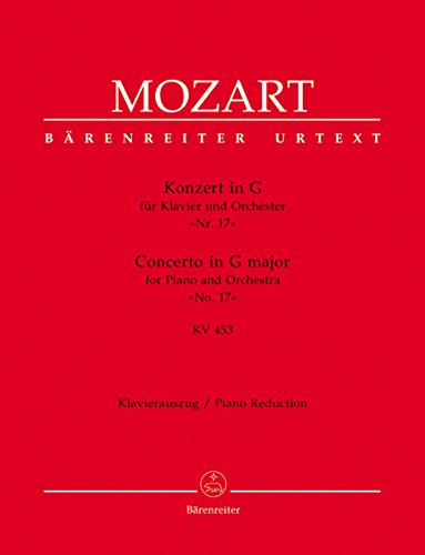 Konzert G-Dur KV453 für Klavierund Orchester : für 2 Klaviere: Wolfgang Amadeus Mozart