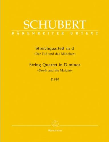 Streichquartett d-Moll D810Stimmen: Franz Schubert
