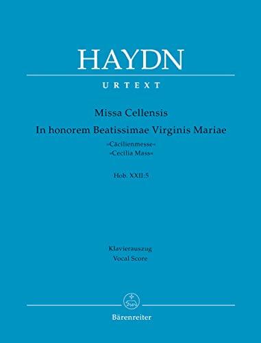 Missa Cellensis - In Honorem Beatissimae Virginis: Haydn, Joseph,