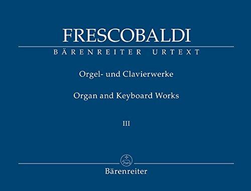 Il Secondo Libro di Toccate, Canzone, Versi: Frescobaldi, Girolamo