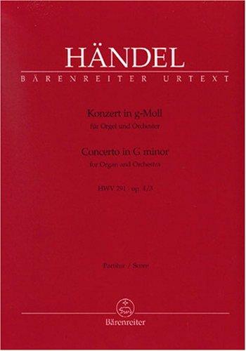 Konzert F-Dur op.4,4 HWV292 :Für Orgel und Orchester: Georg Friedrich H�ndel