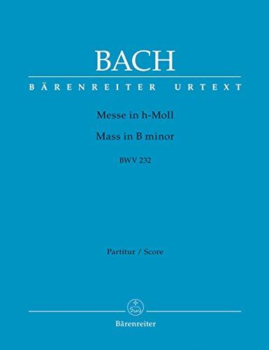 Messe in h-Moll BWV 232: Kartonierte Dirigierpartitur: Johann Sebastian Bach