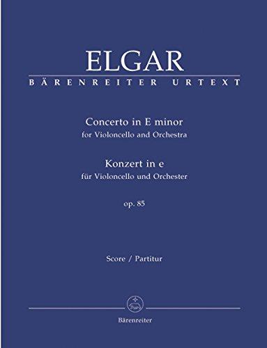 9790006526871: Konzert E-moll Op 85