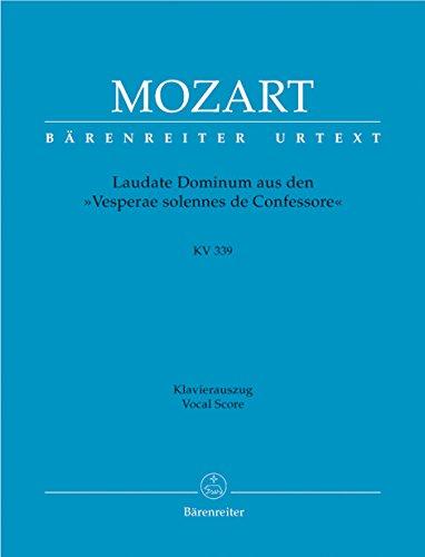 Laudate Dominum, Aus Vesperae Solennes De Confessore,: Mozart, Wolfgang Amadeus,
