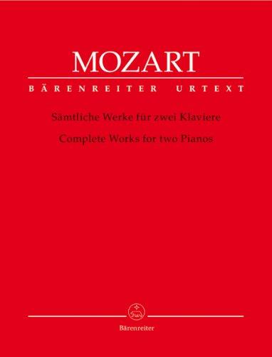 9790006527687: Sonate KV 448 + Fugue KV 426 + KV Anh.42-45 --- Pianos (2)