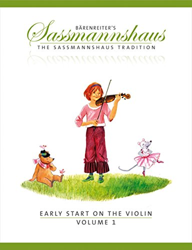 9790006536405: SASSMANNSHAUS - Primeros Pasos Vol.1 (Metodo) para Violin