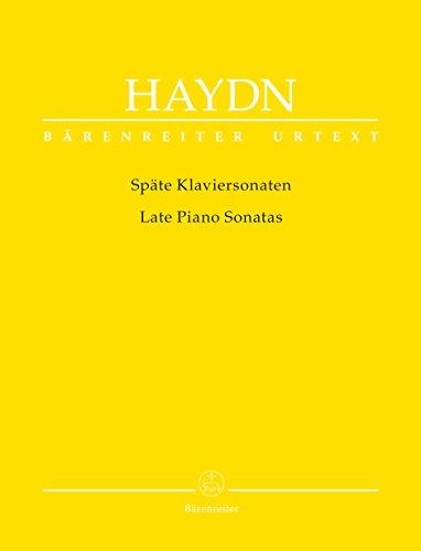 Späte Klaviersonaten: Partitur: Joseph Haydn