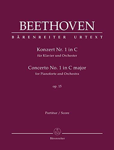 Konzert Nr. 1 in C fur Klavier: Ludwig van Beethoven,