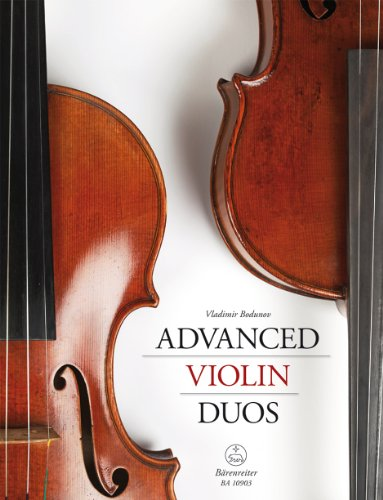 9790006543755: Advanced Violin Duos (Score and Set of Parts)