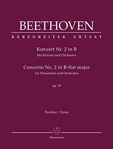 Konzert Nr. 2 in B für Klavier: Ludwig van Beethoven