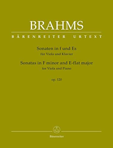 2 Sonaten op.120 :für Viola und Klavier: Johannes Brahms