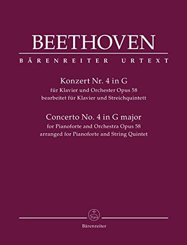 Klavierkonzert Nr. 4 op. 58 (Bearbeitung als: Ludwig van Beethoven,