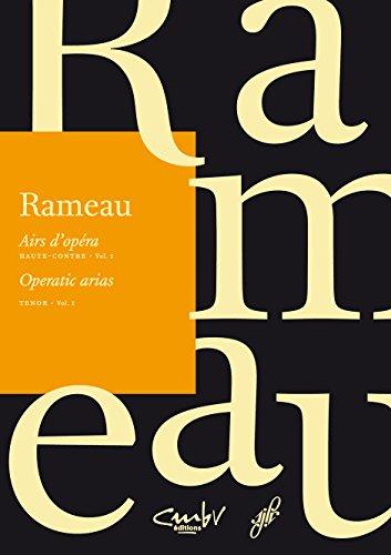 Haute-contre, Vol. 1: Klavierauszug (Paperback): Jean-Philippe Rameau