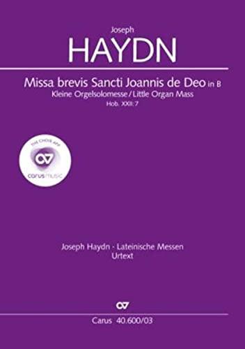 Missa brevis Sti. Joannis de Deo B-Dur: Joseph Haydn