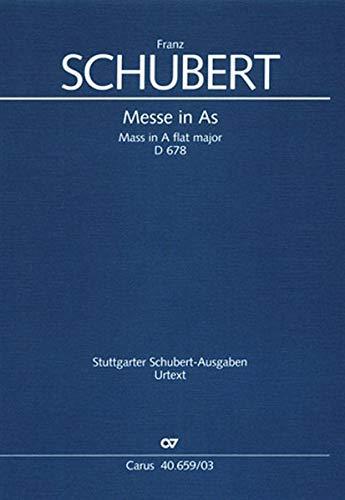 Schubert: Mass in A-flat Major, D 678: Franz Schubert
